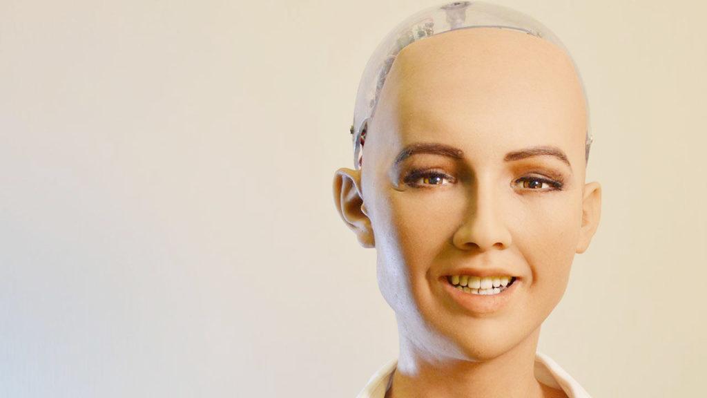 Sophia is Hanson Robotics' most advanced, human-like robot personality, created through robotics and artificial intelligence (Photo/courtesy).